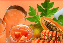 health benefits of papaya juice on skin and hair