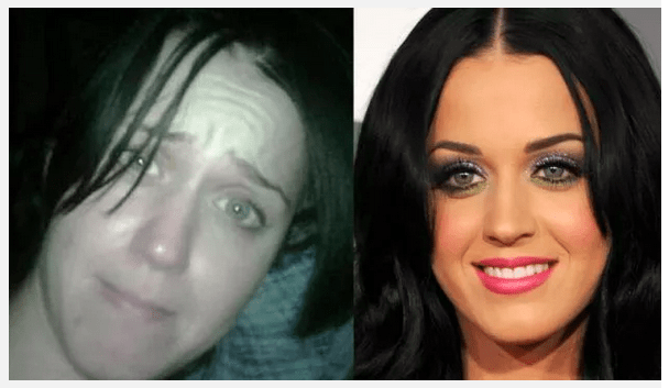 katy perry with out make up