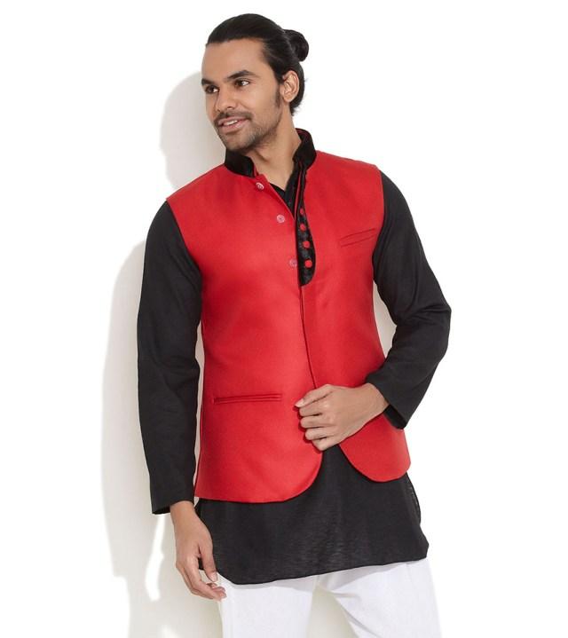 velvet touch nehru jacket for men