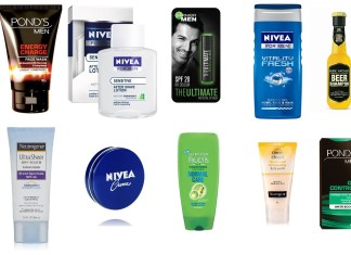 different face wash for men available in india