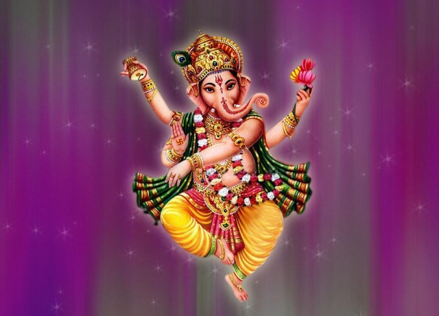 dancing ganesh wallpaper