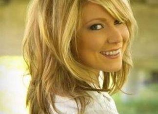 unique medium layered hairstyle