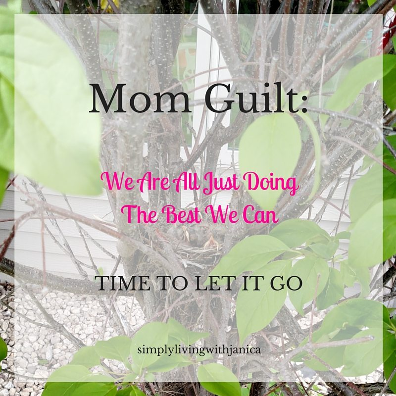 Mom Guilt: We're All Just Doing The Best We Can