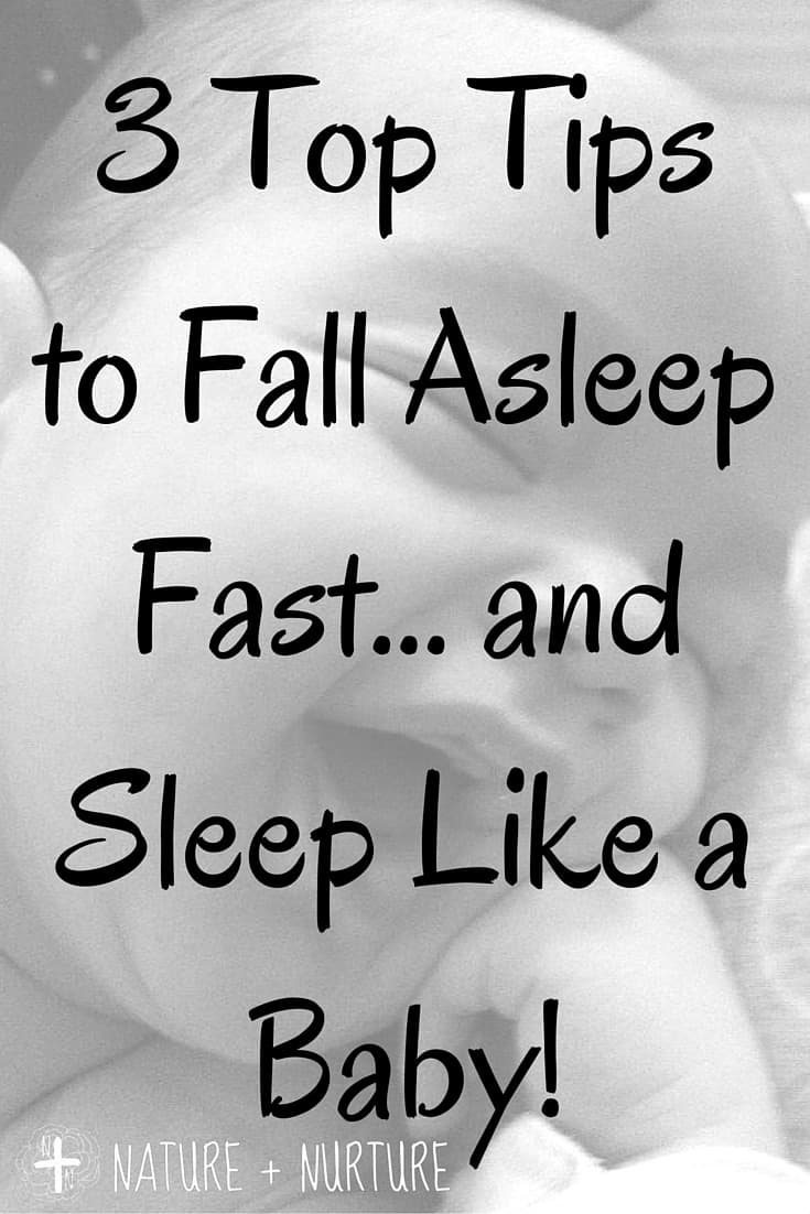Beat Insomnia + Sleep Like a Baby - 3 Top Tips