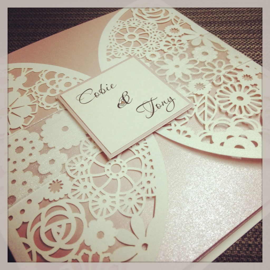 wedding invitations lace laser cut laser cut wedding invitations Luxe Laser Cut Wedding Invitation Simply Stunning Stationery