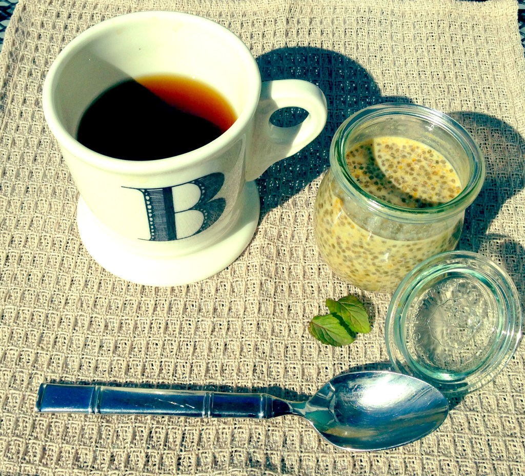 coffee and chia