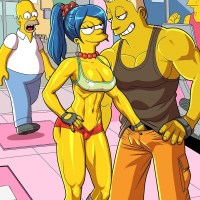 Getting any young stud in Springfield - Marge Simpson is still hot enough to do that... and she is still horny enough to do that!