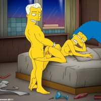 Marge Simpson needs to rest from Homer's huge dick sometimes...