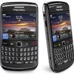 Vista frontal del BlackBerry Bold 9780