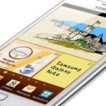 Samsung Galaxy Note blanco