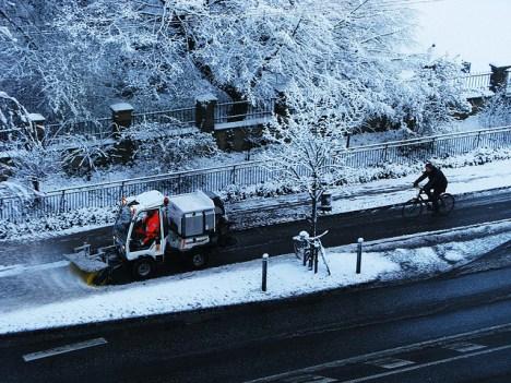 Čišćenje snijega u Kopenhagenu