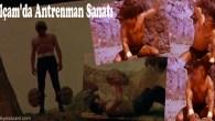 Dünyayı Kurtaran Adam ve Kara Şimşek filmlerindeki antreman sahneleri