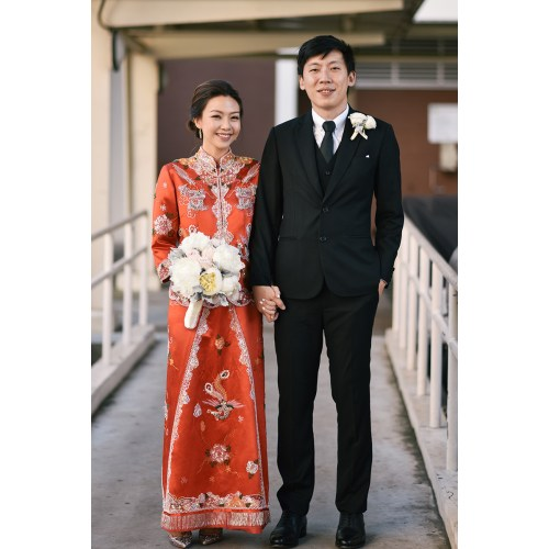 Medium Crop Of Chinese Wedding Dress