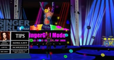 SingerGirl Live at Bonaventure in SecondLife @ 2pm Pacific, 11/10/17