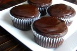 Chocolate Chip Cupcakes with Mayan Chocolate Ganache