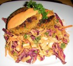 MATCH Crab Cakes and Colorful Slaw with Remoulade Sauce / Dressing