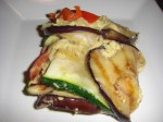 Grilled Vegetable Lasagna with Parsley Hummus (Gluten-free)