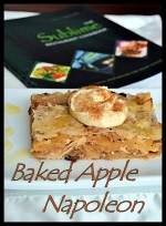 Baked Apple Napoleon with Cashew Cream {The Sublime Restaurant Cookbook}