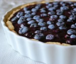 Chilled Blueberry Tart and 28 weeks!