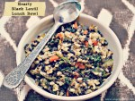 Hearty Black Lentil Lunch Bowl
