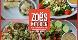 World Vegetarian Day with Zoës Kitchen #LiveMediterranean