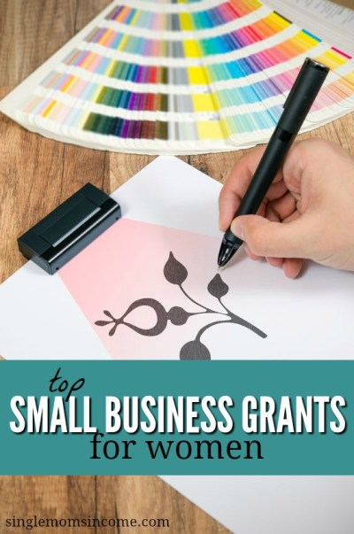 Top Small Business Grants for Women - Single Moms Income