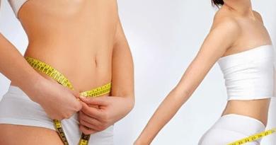 giảm mỡ bụng với vòng eo thon thả