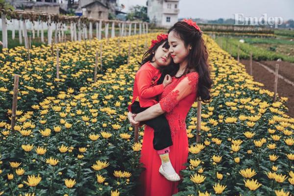 Cái Tết hạnh phúc của bà mẹ đơn thân 8x xinh đẹp