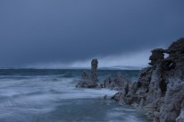 Incoming Storm at Mono Lake