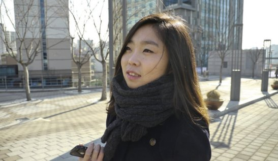 North Korean defector Eunsun Kim is fluent in Chinese -- but will her story change minds in China?  | Image via Paris Match