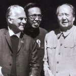 Edgar Snow and Mao Zedong, side-by-side | Image via Ministry of Foreign Affairs, PRC