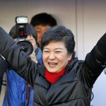 Park Geun-hye, the winner of South Korea's 18th presidential election | image via Al Jazeera
