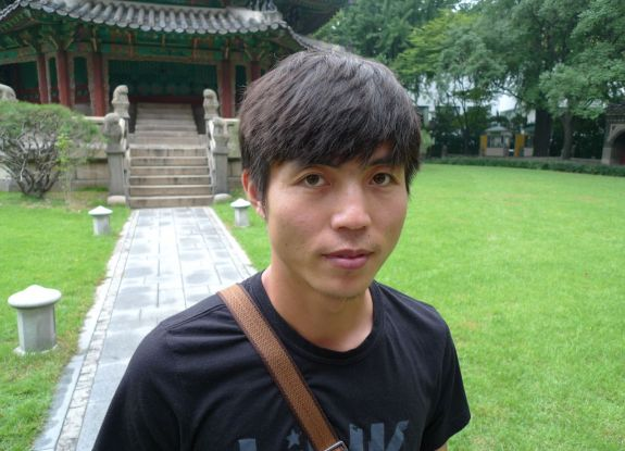 Shin Dong-hyuk in Seoul   Image: Blaine Harden