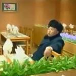 Kim Jong-un gives direction in a restaurant at Masik Pass Ski Resort, circa November 2013. Image via Chosun Central TV.