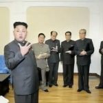 """""""We've got three more factionalist counter-revolutionaries in the Party?""""   Image: StimmeKoreas You Tube channel"""