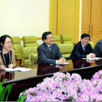 Chinese Foreign Ministry delegation visits DPRK to discuss regional security and six-party talks, February 21, 2014 | KCNA
