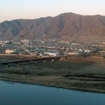 The Sino-North Korean border at Tumen-Namyang   Image: Steven Denney/Sino-NK