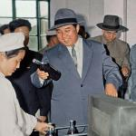 Kim Il-song in 1961, doing his best impersonation of Al Capone. | Image: Rodong Sinmun