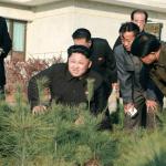 Kim Jong Un visits the Central Tree Nursery