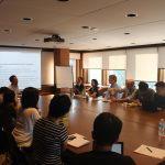A photo from Professor Park's presentation. | Image: Asian Institute, University of Toronto