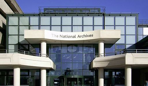 The National Archives at Kew (Greater London). | Image: Wikicommons