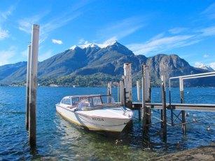 Boat Docked in Bellagio