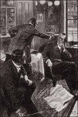 """SEE HERE, MASSER HOLMES, YOU KEEP YOUR HANDS OUT OF OTHER FOLKS' BUSINESS."""