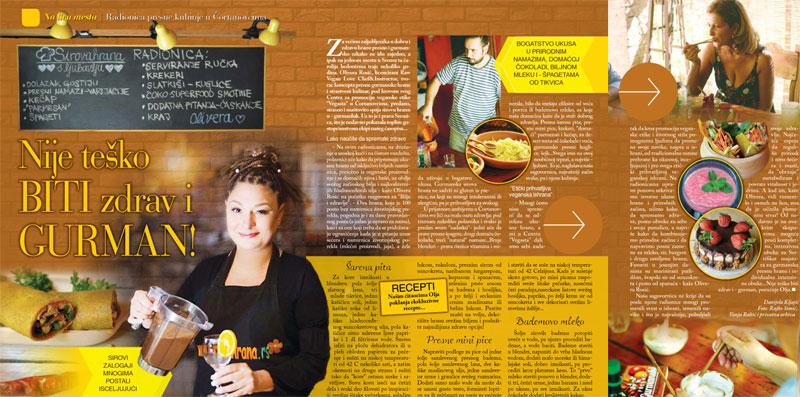 """Novi broj časopisa """"Bilje i Zdravlje"""" - članak o našim aktivnostima"""