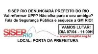 Segue a denúncia que será protocolada no Ministério Público!