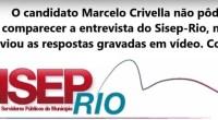 O Sisep-Rio realizou uma série de entrevistas com candidatos a prefeito do Rio de Janeiro. As entrevistas foram realizadas pelo nosso diretor jurídico Frederico Sanches, contudo o candidato Marcelo Crivella […]