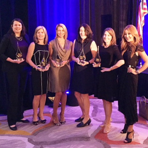 2015 OC Business Journal Award recipients, from left,