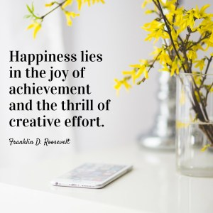 Happiness lies in the joy of achievement_mini