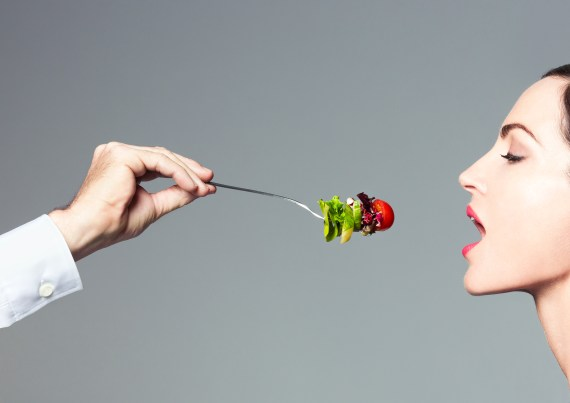 person being fed