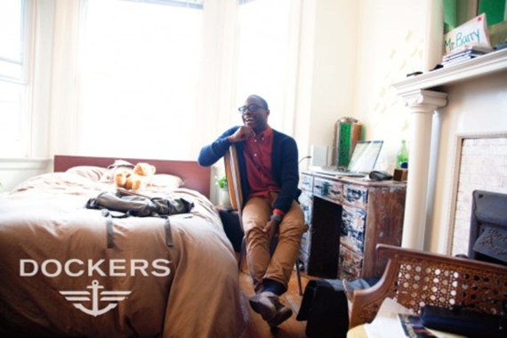 Man sitting in his room